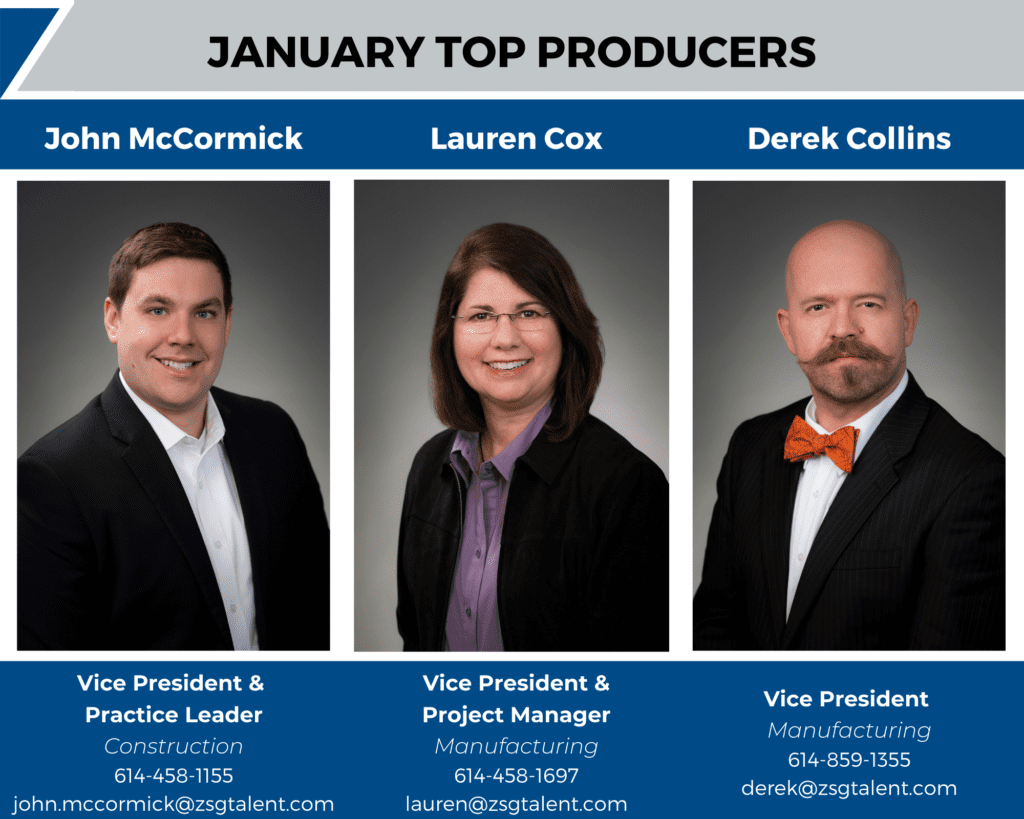Jan 21 Top Producers